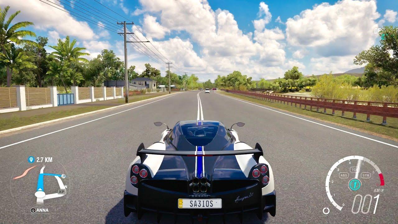 Forza Horizon 3 Pagani Huayra BC - YouTube