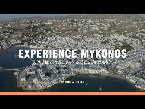 Experience Mykonos with Marriott Bonvoy Moments and Design Hotels™