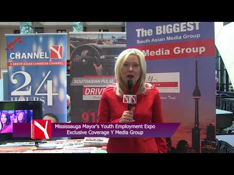 Mississauga Mayor's Youth Employment Expo mp4
