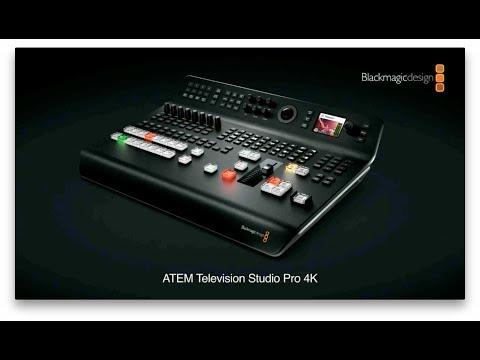 Blackmagic Design ATEM TV Studio Pro 4K - NAB 2018 Press Conference thumbnail