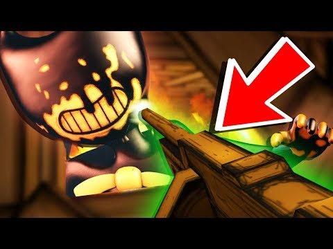 BENDY CAN BE DESTROYED WITH THIS SECRET... 😱 - Bendy and the Ink Machine Chapter 3 Ending/ SECRETS