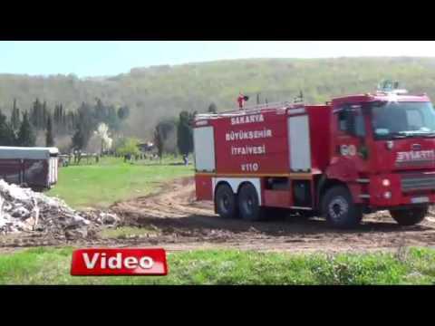 Sakarya'da feci yangın 3 çocuk can verdi