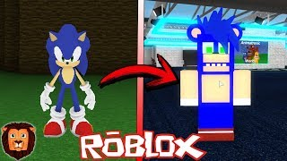 SONIC ANIMATRONICO EN FIVE NIGHTS AT FREDDYS EN ROBLOX LEON PICARON