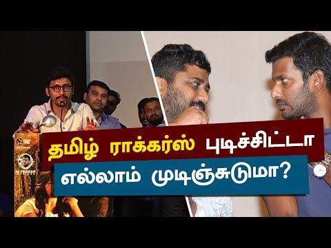 No One Stops TAMILROCKERS - RJ Balaji | Ivan Thanthiran Movie Audio Launch