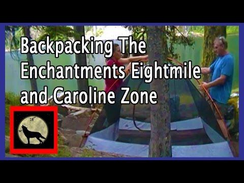 Backpacking The Enchantments Eightmile and Caroline Zone-Alpine Lakes Wilderness