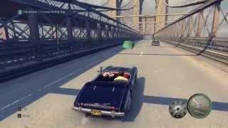 MAFIA 2 DRIVERLESS CAR + HOVERING VITO GLITCH! :D