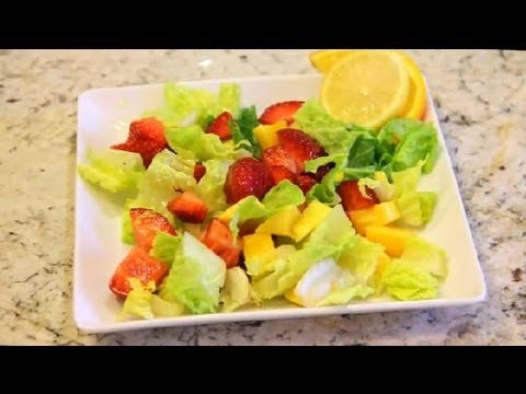 Strawberry Mango Salad: Vegan Cooking