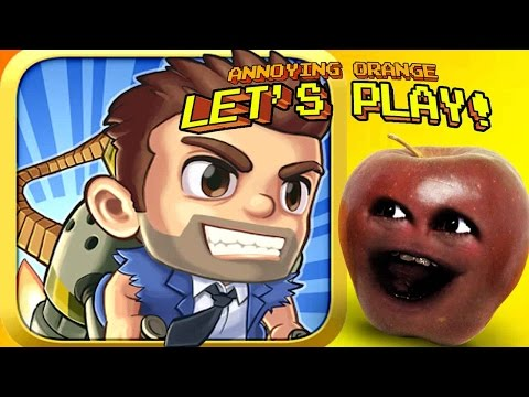 Midget Apple Plays - Jetpack Joyride #1
