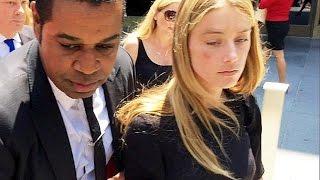 الممثلة آمْبِرْ هيرْد تُقاضي زوجها السابق جوني ديب بتهمة الاعتداء عليها ضربًا   29-5-2016