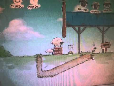 Веселые и смелые овечки идут домой(часть 1)