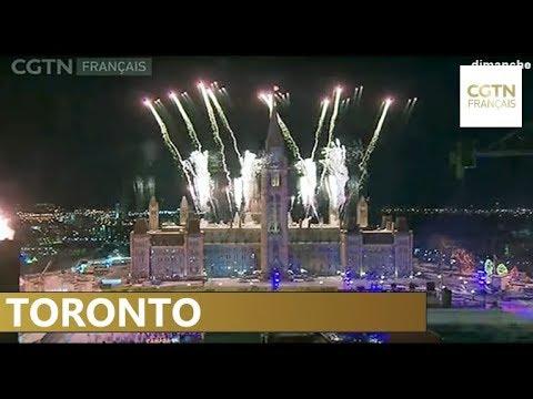 Toronto interrompt les célébrations du Nouvel An à cause du froid