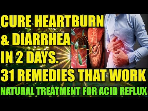 how-to-get-rid-of-heartburn-fast-(acid-reflux-cure)---home-remedies-for-loose-motion,-diarrhea