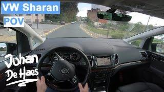 VW Sharan 2.0 TDI 184 hp POV test drive