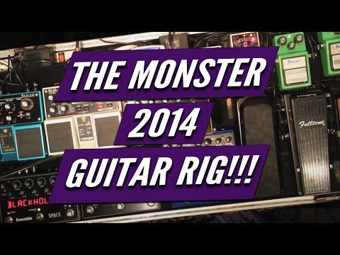 Kelly Richey Monster Guitar Rig 2014