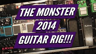 Kelly Richey Monster Guitar Rig 2014