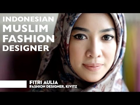 Fitri Aulia | Indonesian Muslim Fashion Designer