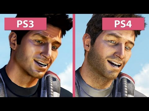 Uncharted The Nathan Drake Collection Uncharted 1 Ps3 Vs Ps4