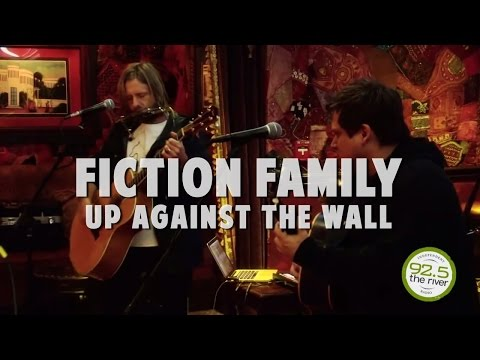 "Fiction Family performs ""Up Against the Wall"""