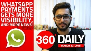 WhatsApp UPI Payments Changes, Vu launches 'Official Android TV' Range, and More (Mar 13, 2018)