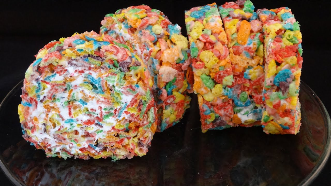 Rainbow Cereal (Fruity Pebble) Roll Ups- with yoyomax12 ...