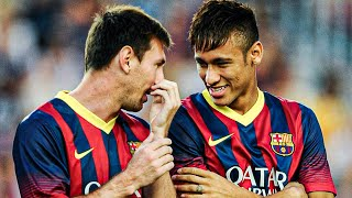 What Lionel Messi said to Neymar to convince him to come back to FC Barcelona | Oh My Goal