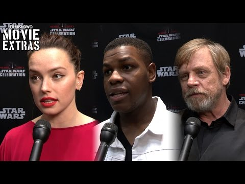 Star Wars: The Last Jedi cast Interviews | Star Wars Celebration