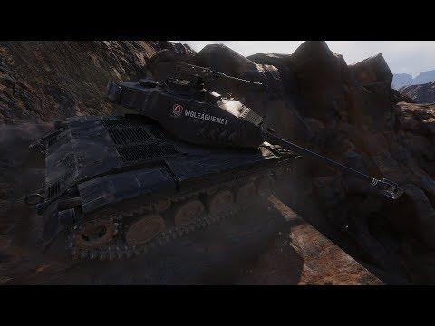 M 41 90 mm GF   World of Tanks gameplay