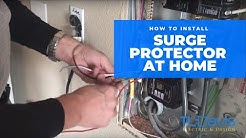 How To Install A Whole House Surge Protector - TL Davis Electric & Design Tulsa
