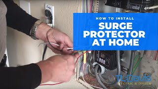 How To Install A Whole House Surge Protector | TL Davis Electric & Design