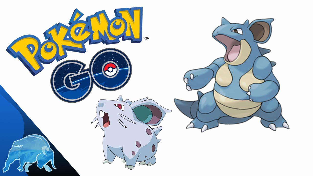 Pokémon GO Nidoran (Female) Evolution Nidorina/Nidoqueen ...