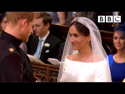 Stand  Me  Prince Harry and Meghan Markle exchange vows  The Royal Wedding  BBC