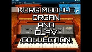 KORG Module - Organ And Clav Collection - Demo for the iPad