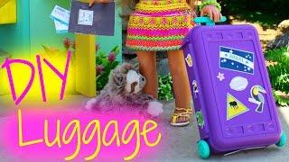 DIY American Girl Doll Luggage