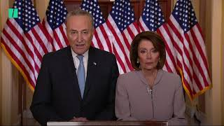 Schumer And Pelosi Respond To Trump Address