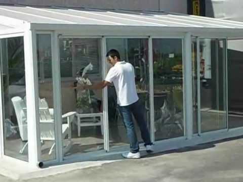Verande Scorrevoli In Alluminio Veranda Tiffany Wwwtechinit Youtube