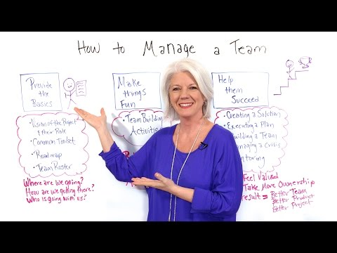 How to Manage a Team - Project Management Training
