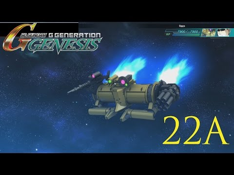 Let's Play SD Gundam G Generation Genesis (English) Episode 22A  MS Igloo Part 6
