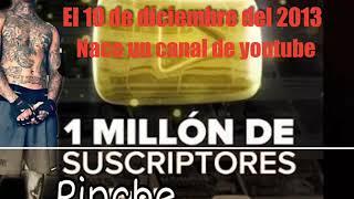Pinche Mara Llega  gana placa de oro en YouTube ft santa fe klan