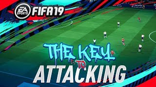 KEY TO ATTACKING!! - FIFA 19 Advanced Sprinting Tutorial - WHEN TO SPRINT - Maintain Possession