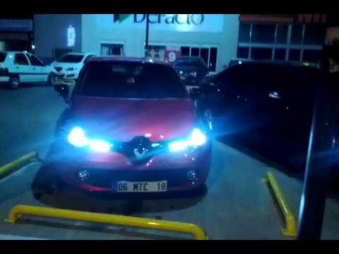 renault clio 4 mk iv w osram cool blue hyper white 5000k youtube. Black Bedroom Furniture Sets. Home Design Ideas
