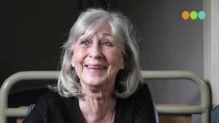 Inge Tielenburg van kapsalon Inge  wordt verrast op haar 75 ste verjaardag