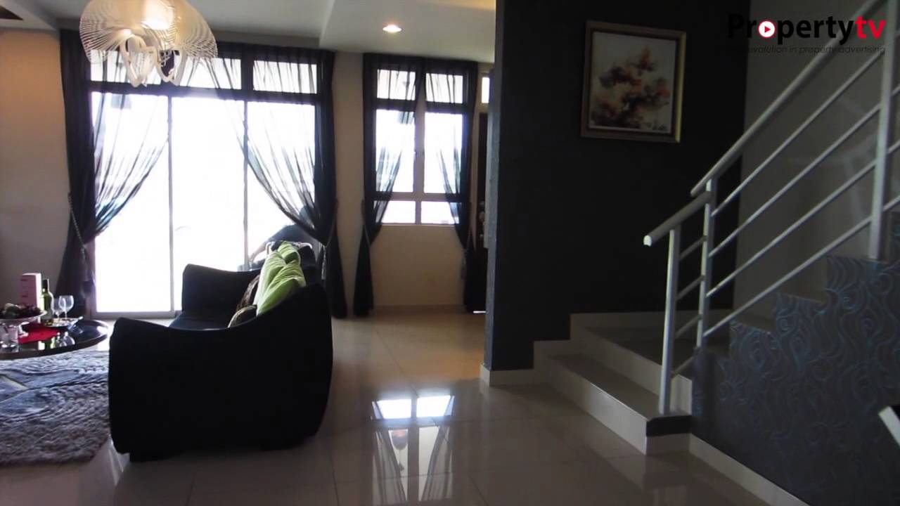 Summer Rose Type D Double Storey Link House Nusa Sentral Property Tv Youtube