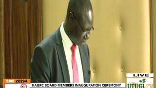 KAGRC Board Inauguration Ceremony