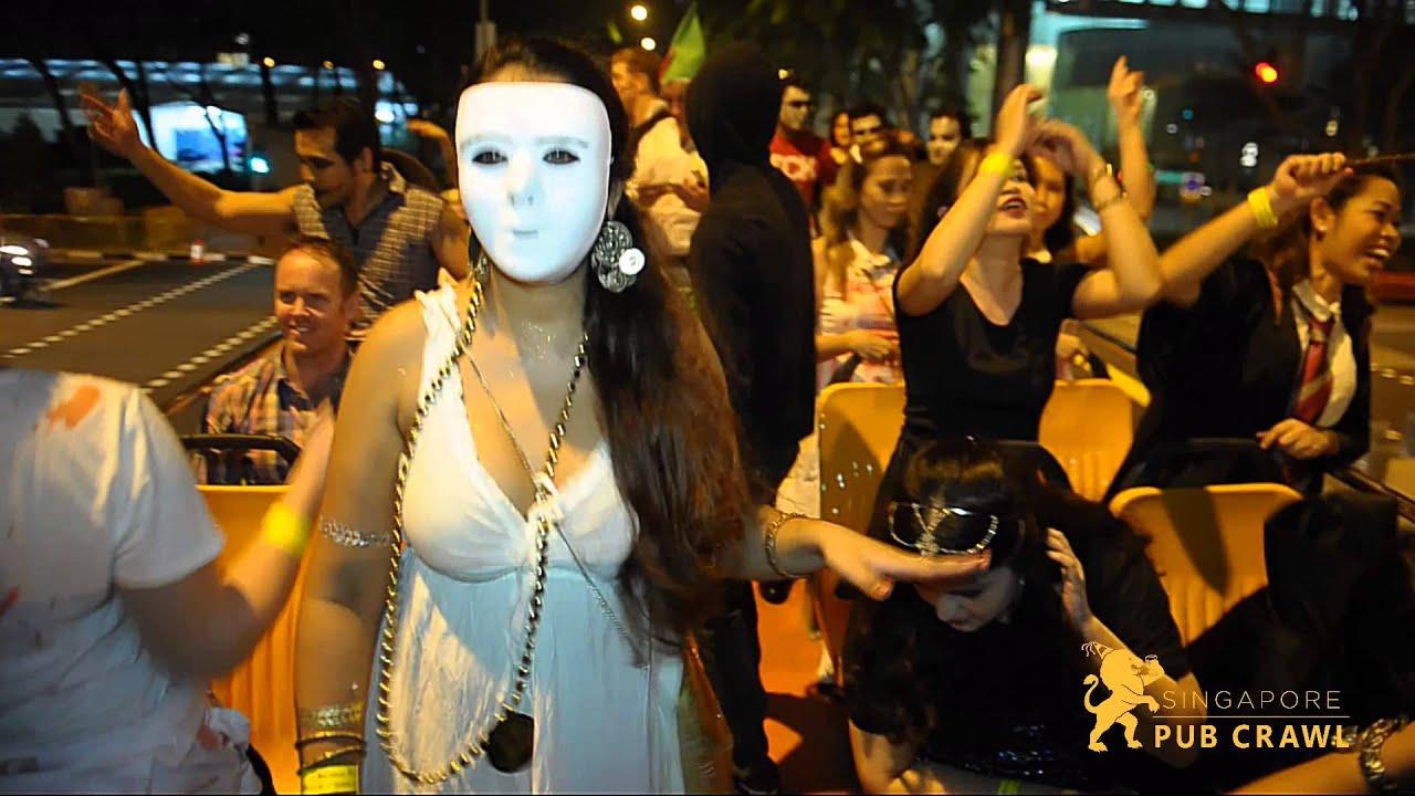 the singapore halloween pub crawl 2017 you