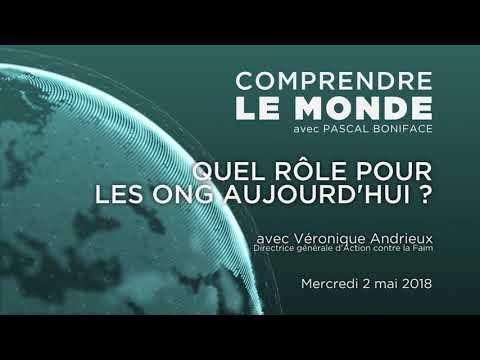 """Comprendre le monde #32 - Invité Véronique Andrieux - """"Quel rôle pour les ONG aujourd'hui ?"""""""