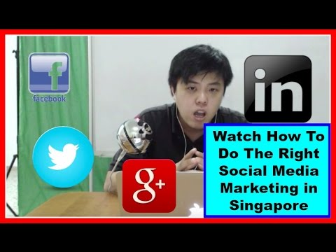 Social Media Marketing Singapore - The Right Social Media Marketing in Singapore