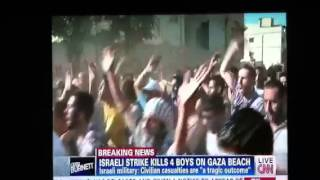 ISRAEL STRIKE KILLS 4 BOYS AT THE BEACH