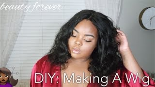 In Depth: Making A Wig   ft. Beauty Forever