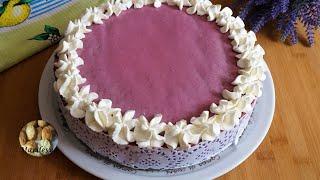 Торт Ежевичка лёгкий летний тортик Из простых продуктов