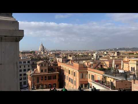 Spanish steps - Ambience in Rome, Italy 2018